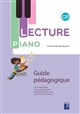 LECTURE PIANO CP   GUIDE PEDAGOGIQUE + CR ROM